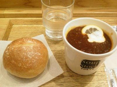 Soup Stock TOKYO@西船橋駅のエキナカにて朝メシ